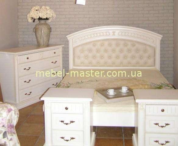 Белая мебель для спальни Анжелика, Италконцепт