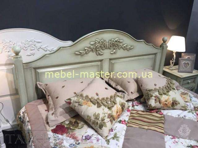 Изголовье кровати Прованс в цвете оливка, Италконцепт