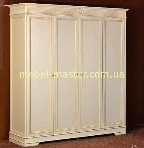 Четырехдверный шкаф в мебельный гарнитур Валенсия, Италконцепт