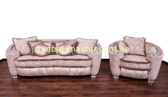 Недорогой классический мягкий диван Версалес от мебельной фабрики Бенелюкс