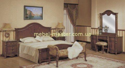 Деревянная мебель для спальни Ангелина, Аванти из натурального дерева