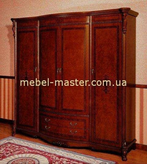 Шкаф для одежды на четыре двери Ангелина, Аванти