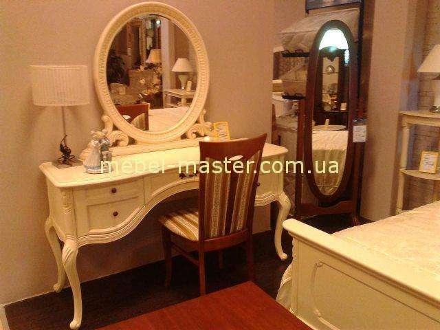 Белый столик туалетный Эрока в стиле прованс, Китай