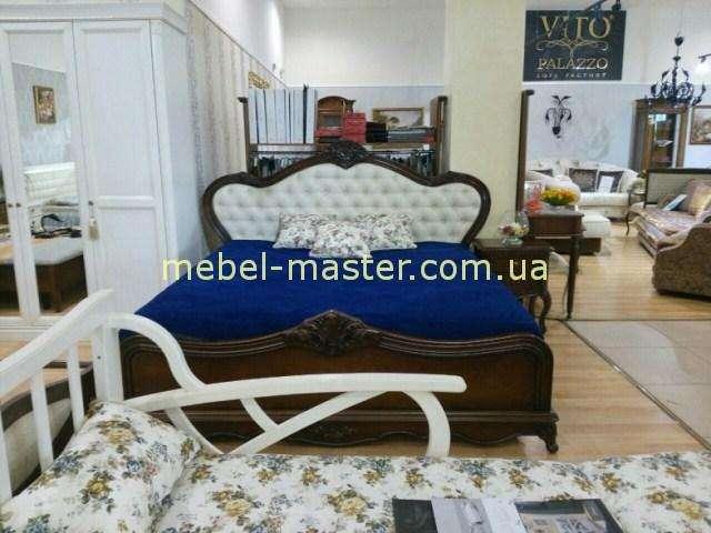 Темный комплект мебели для спальни Сафина, Италконцепт