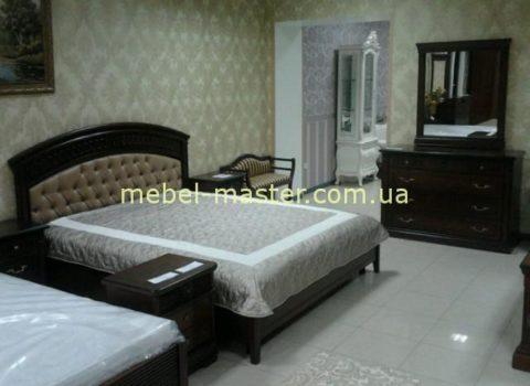 Ореховая мебель для спальни Анжелика, Италконцепт