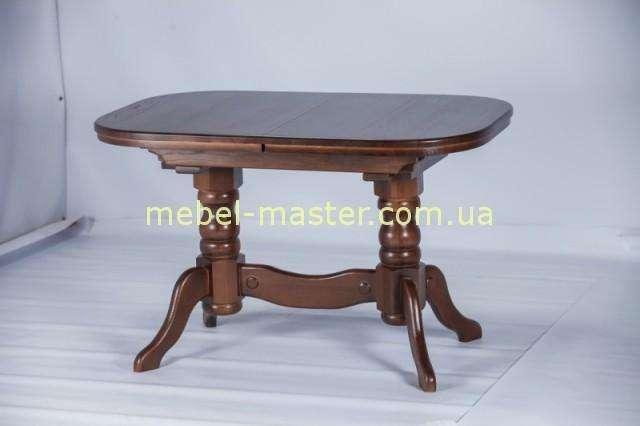 Деревянный ореховый стол Карен, Румерин