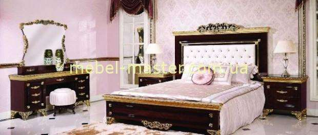 Ореховая мебель для спальни Эрмитаж, Джосс