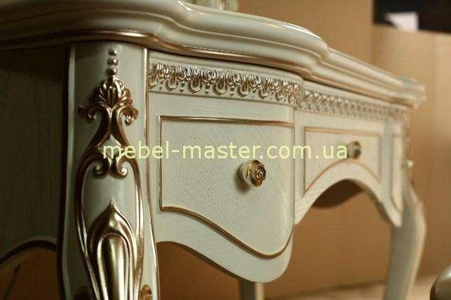 Белая мебель для спальни в стиле барокко Провен, 808