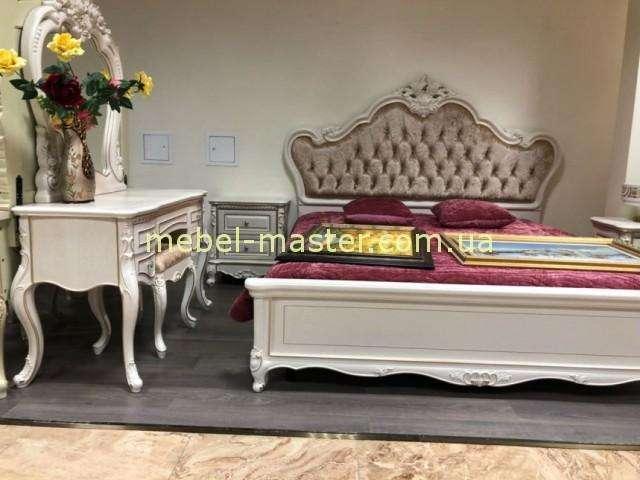 Белая резная мебель для спальни Кармен, Беллини