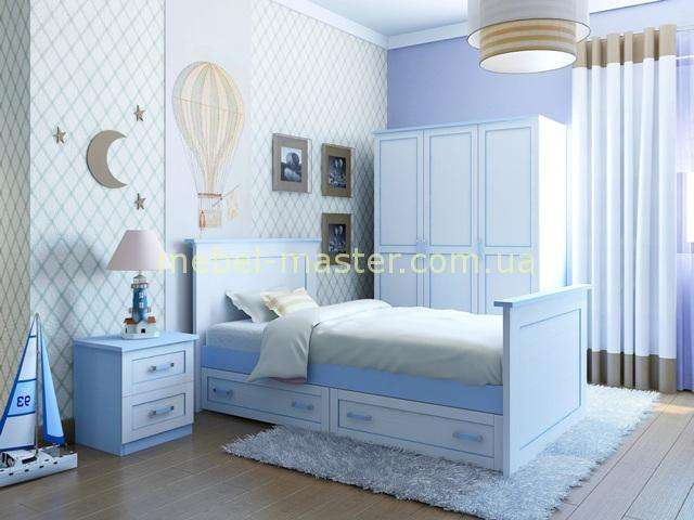 Мебель в детскую комнату для мальчика Вояж, Аквародос