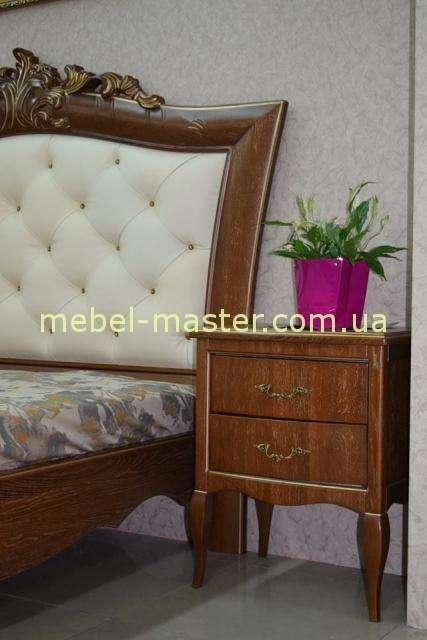 Ореховая тумбочка прикроватная для спальни Венеция, Альбертокомодита