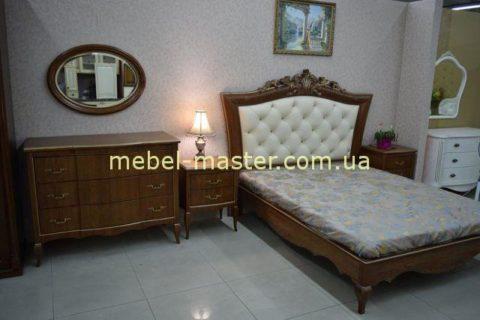 Классический мебельный гарнитур для спальни Венеция, Альбертокомодита