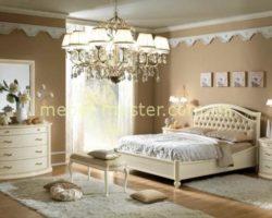 Классическая мебель для спальни Ксения ( Сиена Аворио) из натурального дерева
