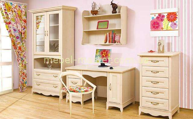 Рабочий уголок для детской комнаты Селина. Свит Меблив