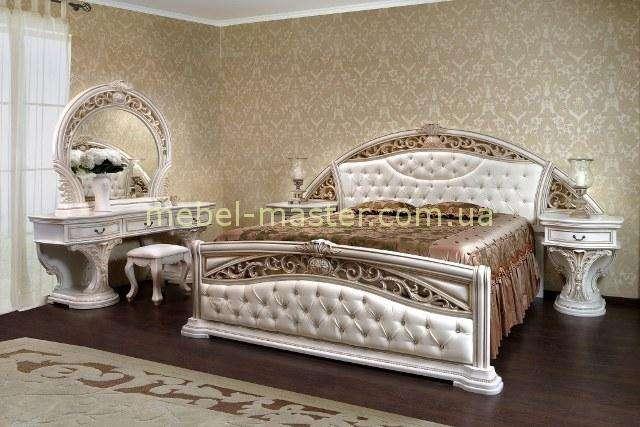 Комплект белой мебели для спальни Латифа ( Малрид) Слониммебель