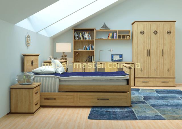 Мебельный гарнитур для мальчика Шкипер, Аквародос
