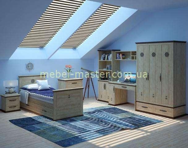 Комплект мебели в комнату для мальчика Skipper, Аквародос