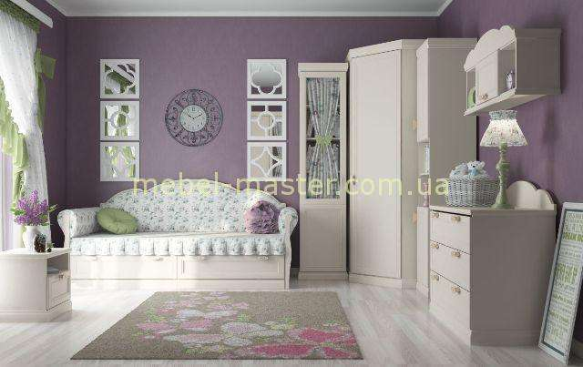 Белая мебель для спальни Прованс. Фабрика детской мебели Дими