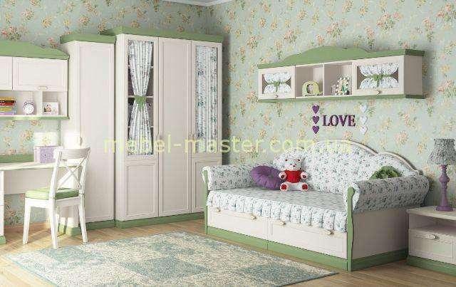 Мягкий диванчик в детскую спальню Прованс, Дими