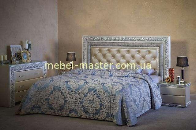 Кровать Сакраменто из массива натурального дерева