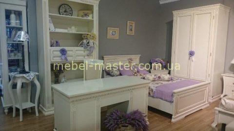 Белый комплект мебели для детской комнаты Венеция, Румыния