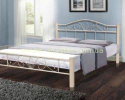 Кованая кровать 1600 Релакс в цвете беж, Микс мебель
