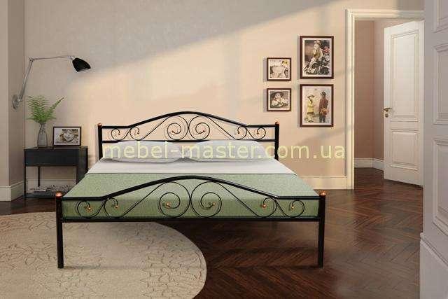 Черная кованая кровать Респект, Микс мебель