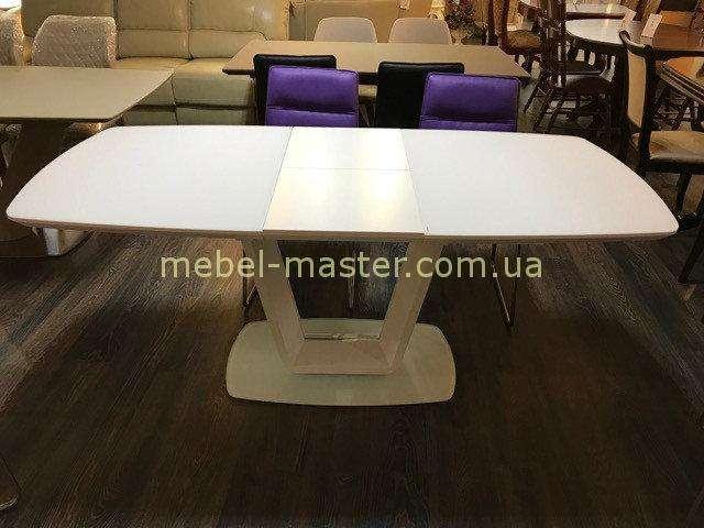 Белый стол с раскладкой Бруклин в стиле модерн