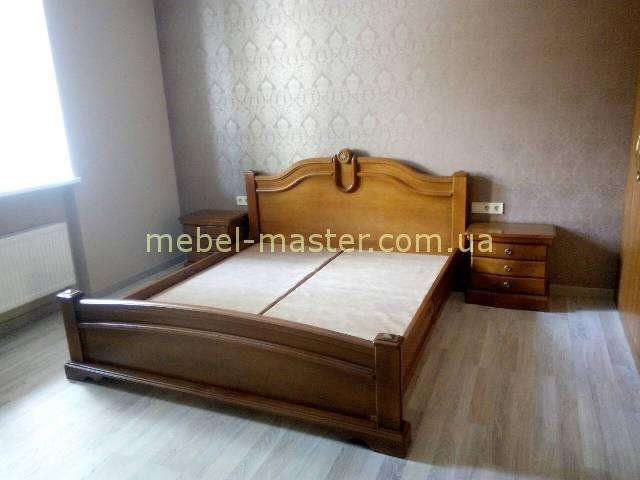 Кровать из массива натурального дерева Ретро, Сафо