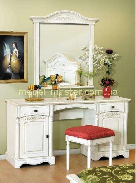 Румынский туалетный столик в стиле Прованс для спальни Анна, Мобекс