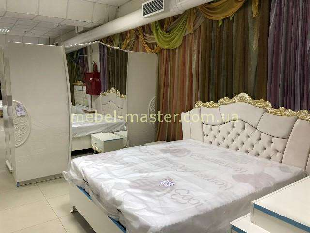 Резная королевская белая спальня Султана, Турция