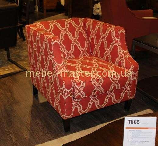 Малое декоративное красное кресло 7990439 Эшли