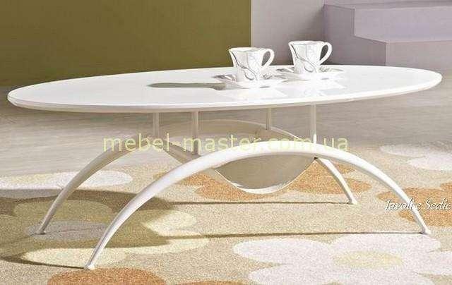 Овальный белый журнальный столик в стиле модерн, Китай