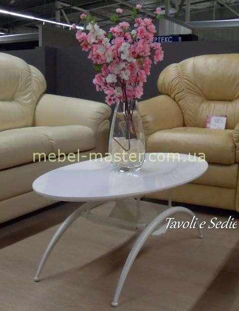 Белый журнальный столик A1002-1 в стиле модерн