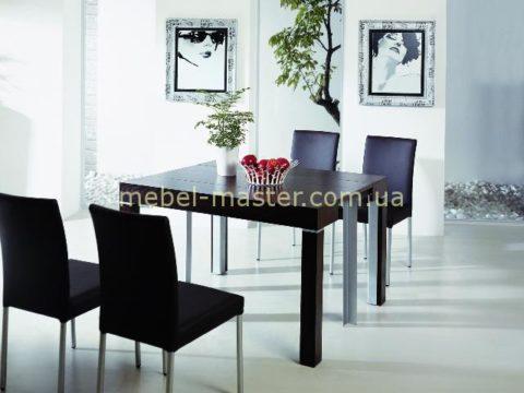 Недорогой стол трансформер с ракладкой от консоли ло обеденного стола B2241-1