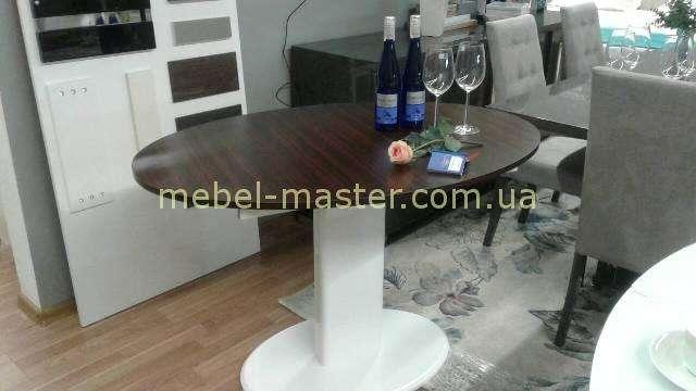 Обеденный стол с темной столешницей B2396, Китай