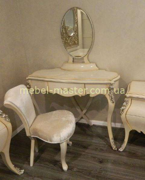 Стильный туалетный дамский столик для спальни Грация в стиле Арт-Деко, Энигма
