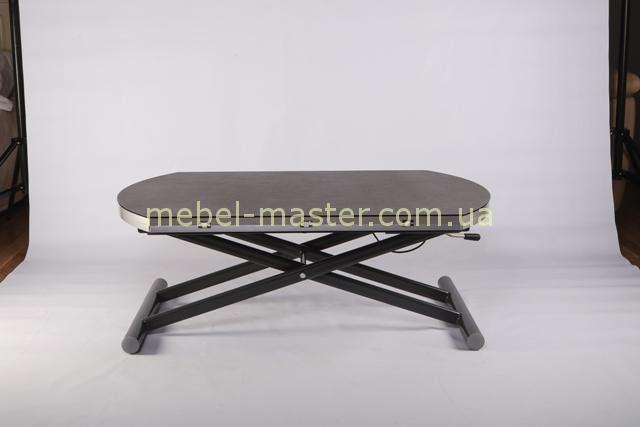 В сложеном виде столик в цвете серый B2433