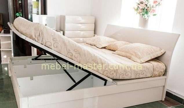Модерновая кровать с нишами для белья Тиффани, София