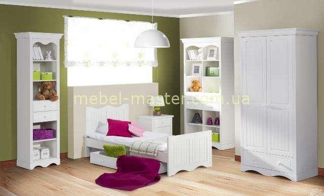 Белая деревянная мебель для детской спальни Принцесса для девочек, Шинака