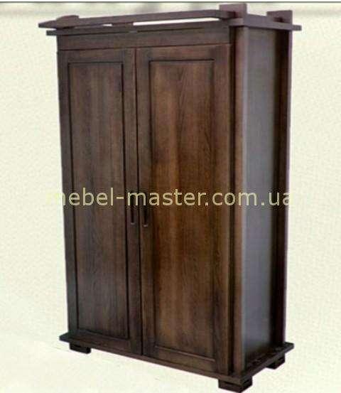 Деревянный щкаф двухдверный для спальни Сакура, Совиньйон