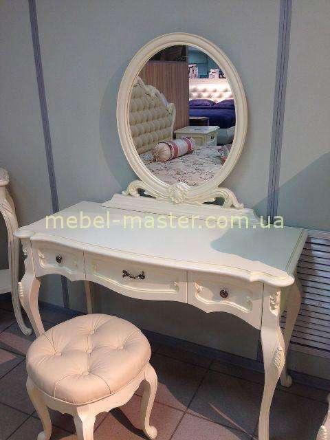 Элегантный туалетный столик с зекркалом для спальни Анабель, Украина