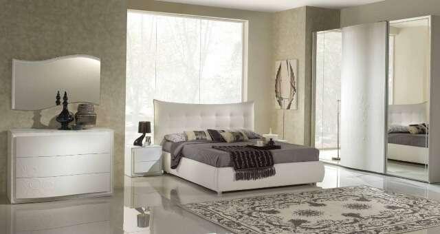 Модерновая спальня. Все представленные спальни функциональны, надежны, произведены из экологически чистых и безопасных материалов