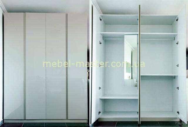 Четырехдверный шкаф для спальни Шоколад, София