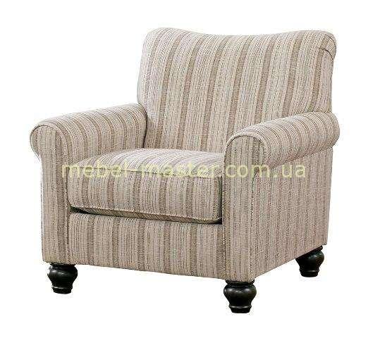 Классическое полосатое кресло кресло 1300021 Эшли