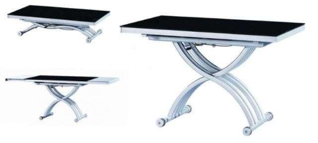 Среди всех вариантов самый популярный – стол трансформер журнальный обеденный. Свое название он получил благодаря особой конструкции, позволяющей трансформировать маленький журнальный столик в крупногабаритный обеденный стол.
