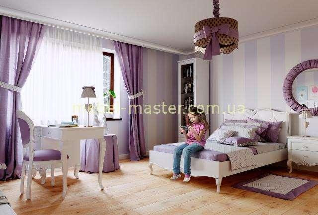 Деревянная спальня для девочки из массива Букет, ТМ Бучинский