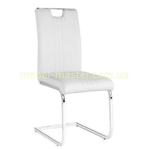 Белый стул из эко-кожи Рико (Rico) DS - 1316, Евродом