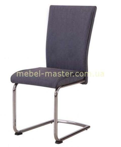 Серый стул из кожзама Manson DC 392, Евродом