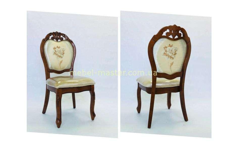 Классический стул 8042 в цвете орех, Даминг